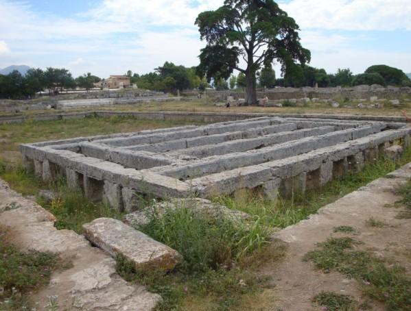 Paestum, piscine