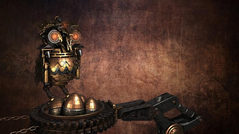 fonds Steampunk