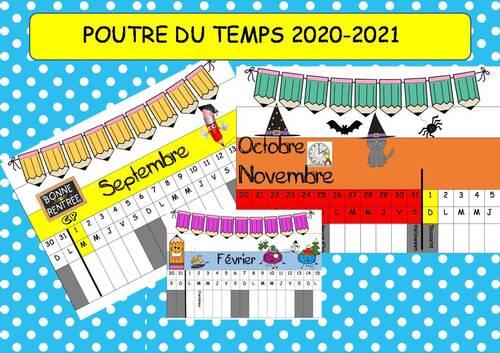 POUTRE DU TEMPS 2020-2021