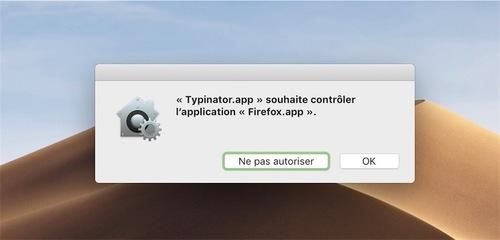 macOS Mojave : nouvelle cascade de demandes d'autorisation pour l'utilisateur
