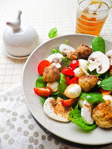 Salade bille de veau - Photo 3