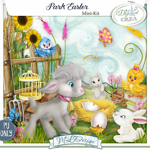 Park Easter by MLDesign_ mini kit