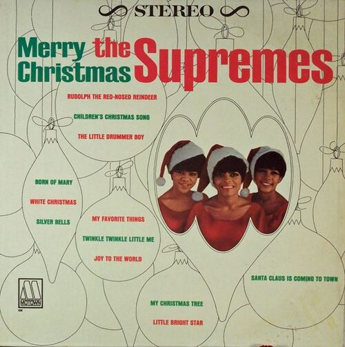 "The Supremes : Album "" Merry Christmas "" Motown Records MT 638 [ US ]"
