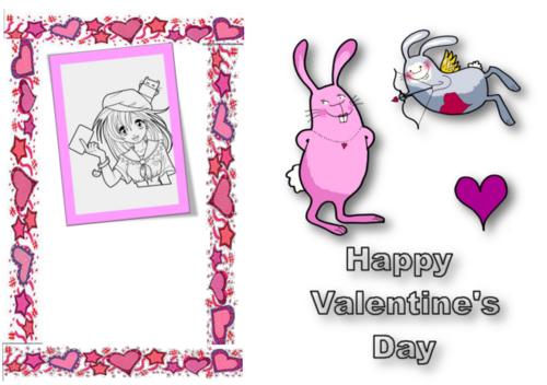 anglais : la saint valentin - valentine's day - CM