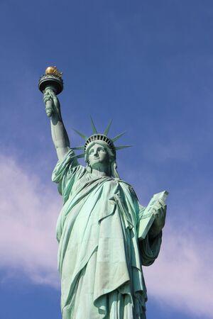 Statue de la liberté et Empire State Building