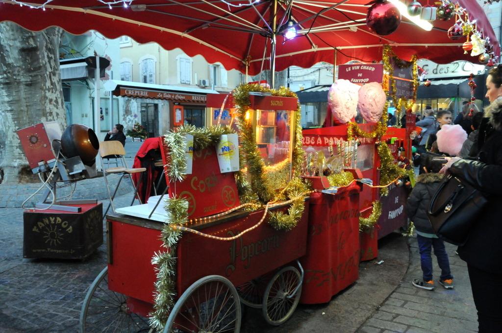 Le marché de noël de Draguignan