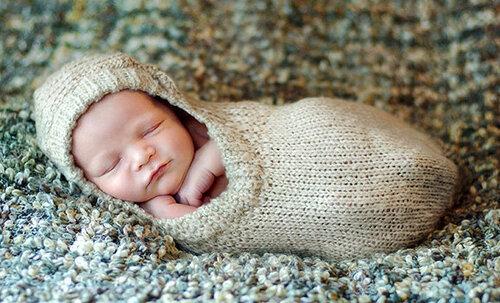 Chhhh ! le bébé dort