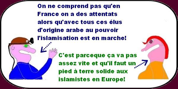 Un dialogue de sourds, une ministre jalouse de l'école publique, c'est ça la France socialiste?