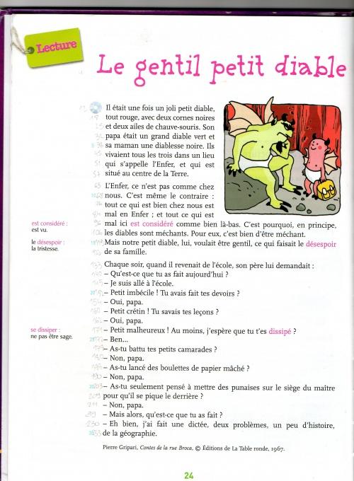 Le gentil petit diable ce1 exireuil - Les petit diable noel ...