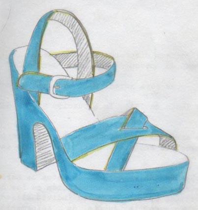 heels, talons