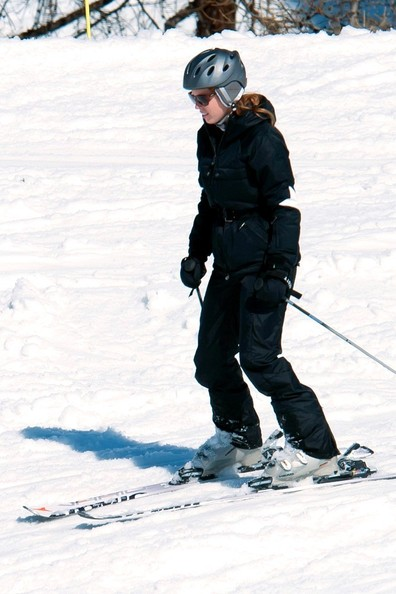 Beatrice au ski
