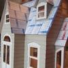 """et avec les petits toits. reste à peindre et """"ardoiser""""!"""