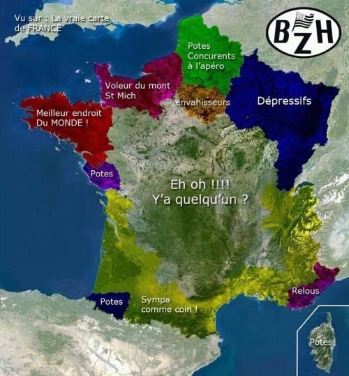 La France vue par le bretons