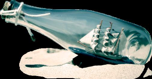 Bouteilles à la mer ou Mer dans la bouteille ?