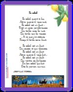 Brille encore soleil d'or - Les poésies