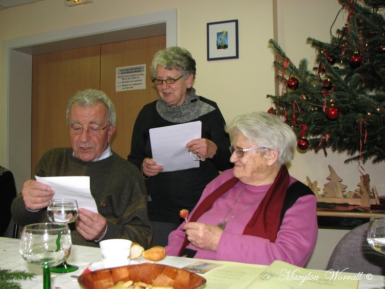 Noël en Alsace : Fête de Noël au club