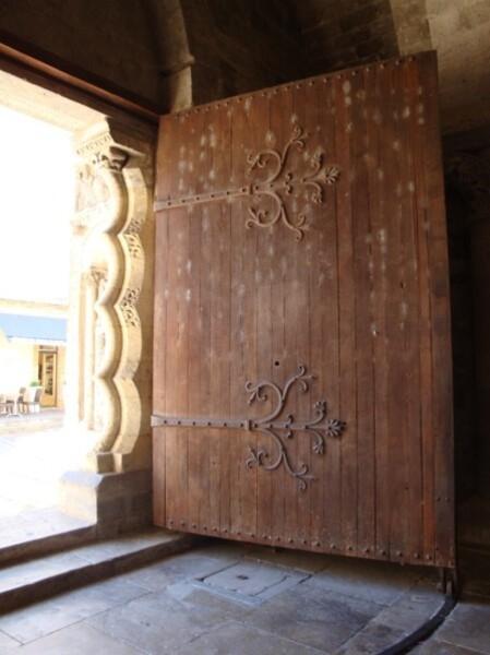 Moissac : le porche