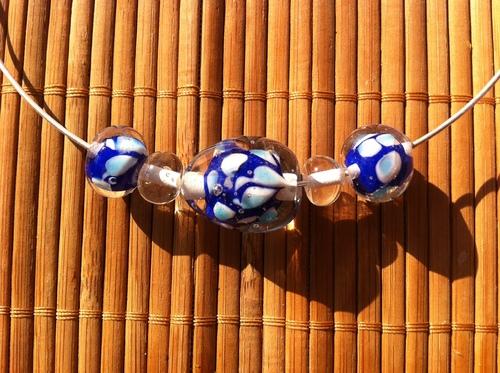 Création de perles en verre filées au chalumeau