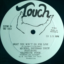 Michael Boothman Touch Feat. Charmaine Forde - What You Won't Do For Love