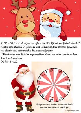24 énigmes de Noël à imprimer gratuitement cycle 3