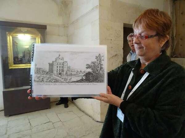 Visite du château de Maulnes, avec la Société Archéologique et Historique du Châtillonnais...