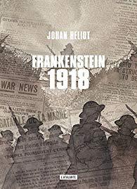 Livre - Frankensten 1918