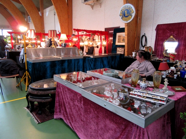 Le salon des Antiquaires 2018 proposé par le Lions Club Châtillonnais nous a fait découvrir des merveilles