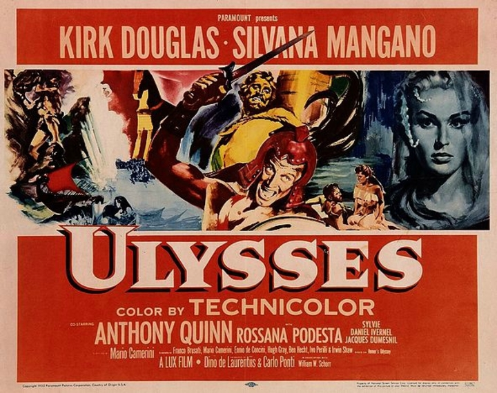 ULYSSE - KIRK DOUGLAS BOX OFFICE 1954