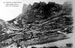 Route du col de la CHAUDIERE - côté nord - début 20ème siècle...