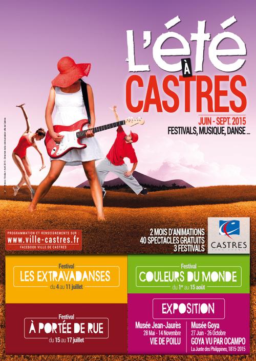 Ville de Castres - été à Castres 2015
