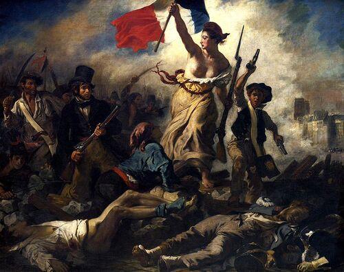 La Déclaration universelle des droits de l'Homme, Marianne, Les symboles de la République