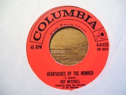 Guy Mitchell : Heartaches By The Number