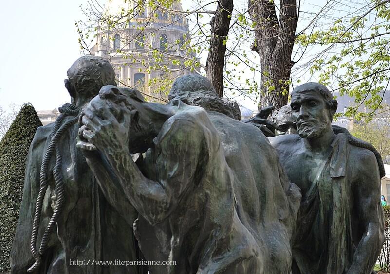 Jardin du Musée Rodin : Les Bourgeois de Calais