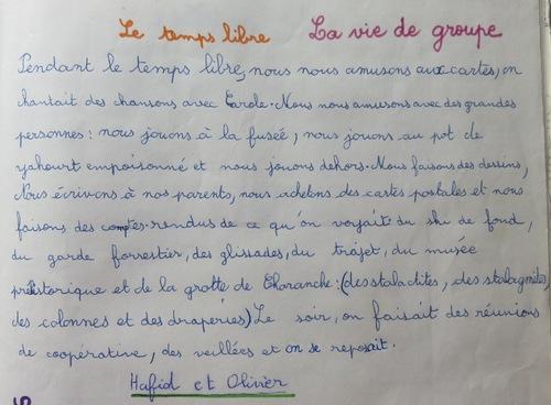 Classe de découverte à Vassieux (4)