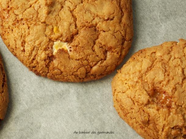 Cookies toblérone daim et caramel