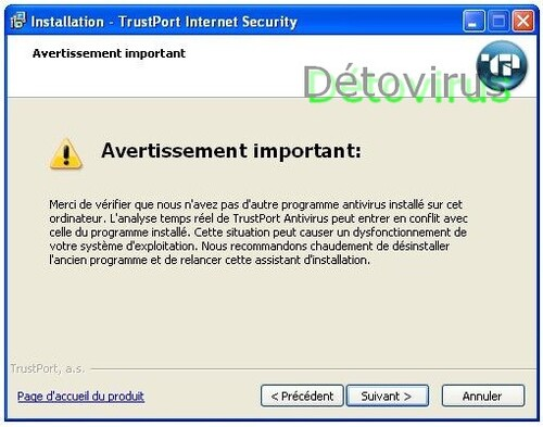 Trustport Internet Security 2013 - Licence 3 mois gratuits