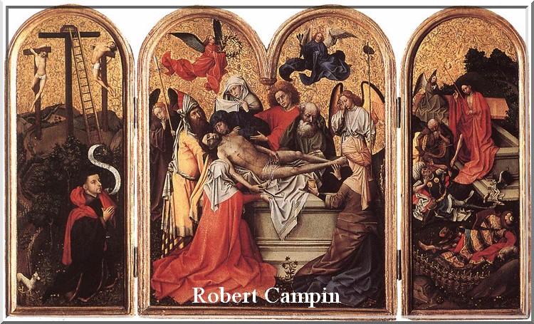 26 avril       : décès de Robert Campin