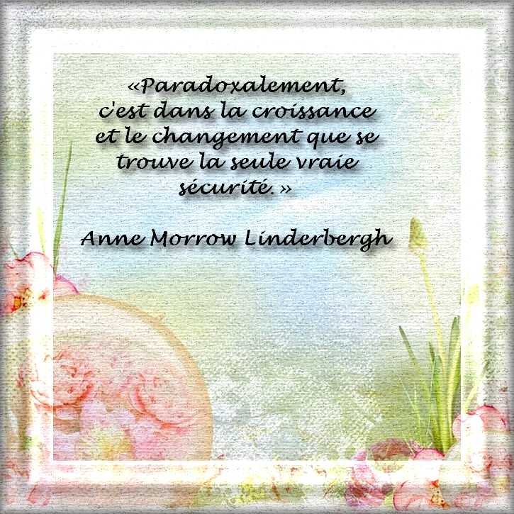 Citation de Anne Morrow Linderbergh