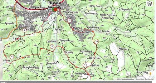 Flassans sur Issole, lac Redon : dimanche 12 novembre