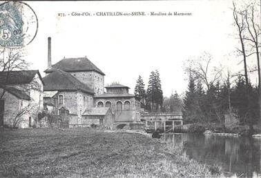 Les moulins ch tillonnais for Garage du marmont