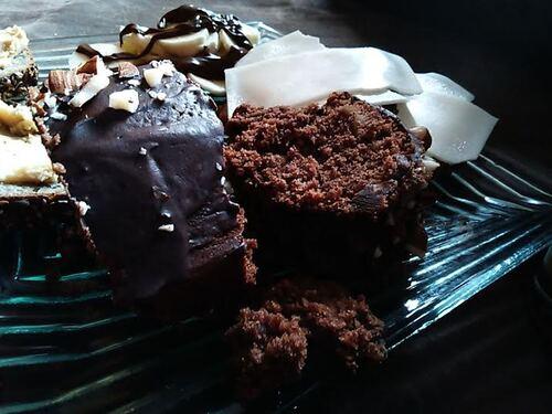 Gâteau chocolat et Amande pour les gourmands {Vegan}
