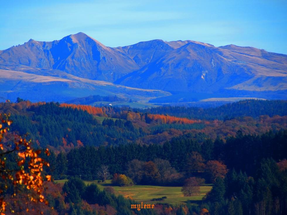 Vu sur le Cantal