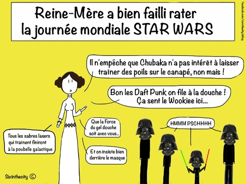 Journée Mondiale Star Wars