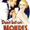 Ne pariez pas sur les blondes