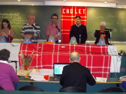 Tournoi de Cholet 2012