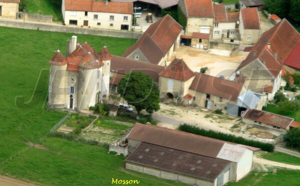 """""""Le Châtillonnais vu du ciel"""", vestiges et châteaux..."""