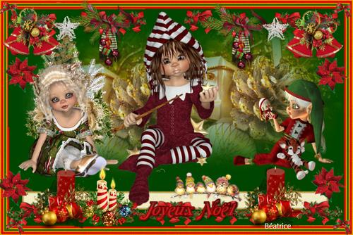 Défi Kalyona   4'' Joyeux Noël''
