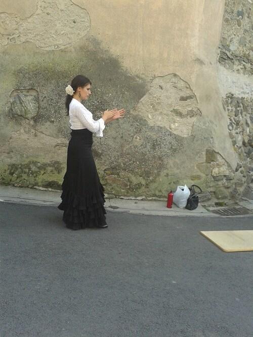 Bon week end a tous et toutes avec cette danseuse de Flamenco