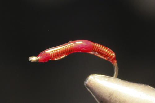 Montage de mouches : La Worm