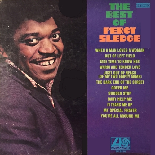 "Percy Sledge : Album "" The Best Of Percy Sledge "" Atlantic Records SD 8210 [ US ]"